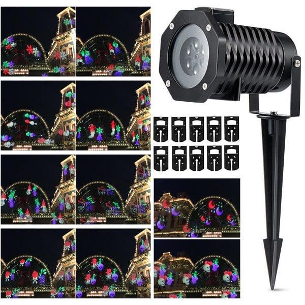 LED Laser Landscape Projector