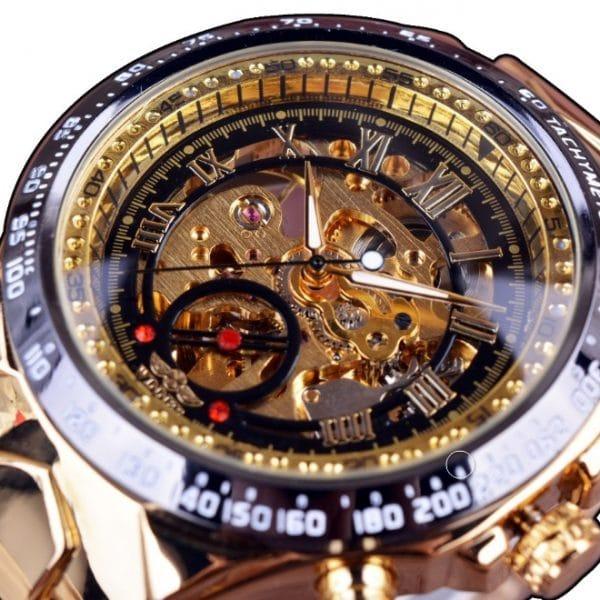 men's personality fashion gold watch