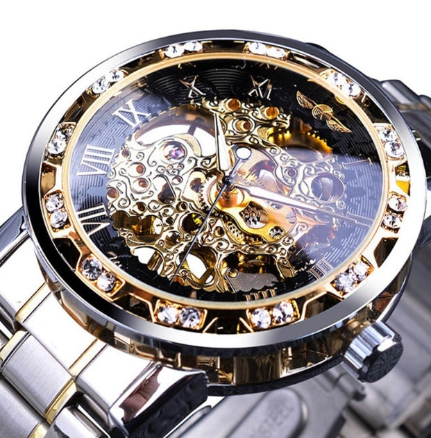 Manual mechanical men's watch