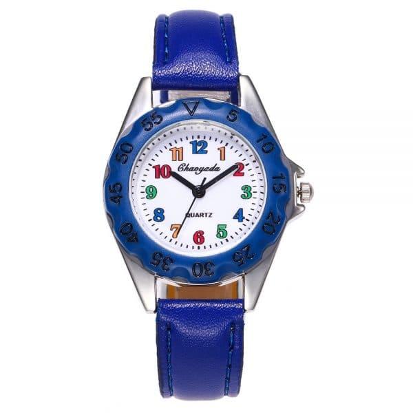 Children's digital circle watch