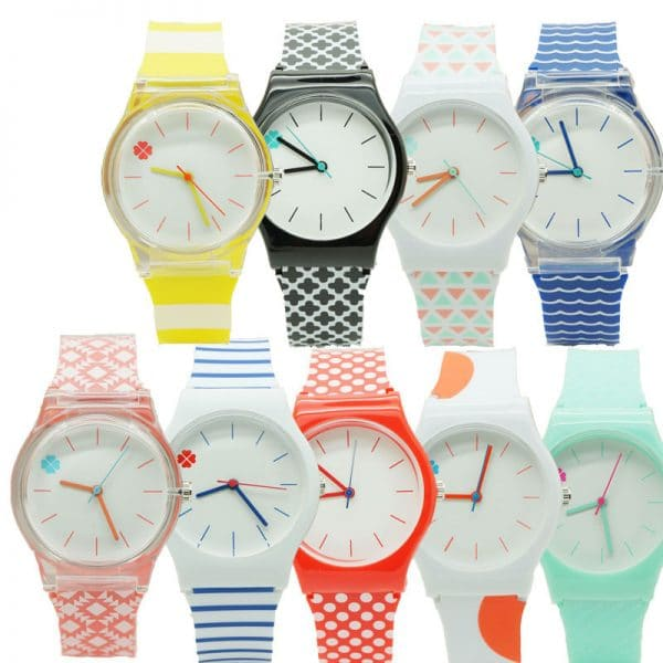 Student quartz watch