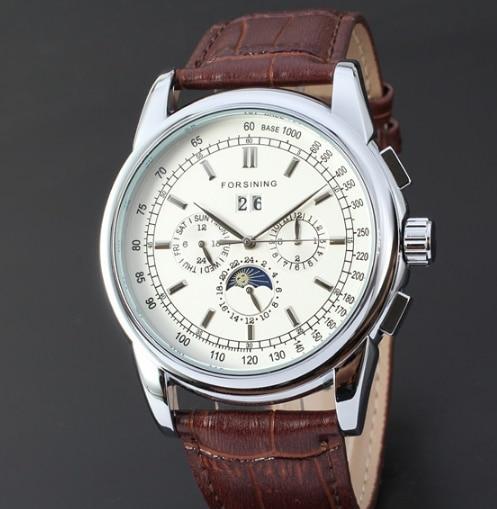 Multi-functional mechanical men's watch