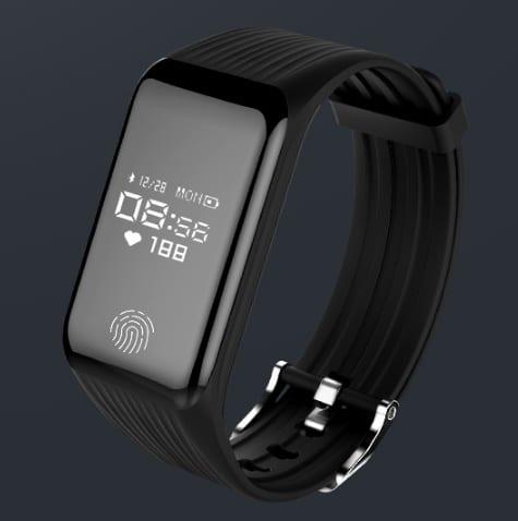 dynamic heart rate smart bracelet