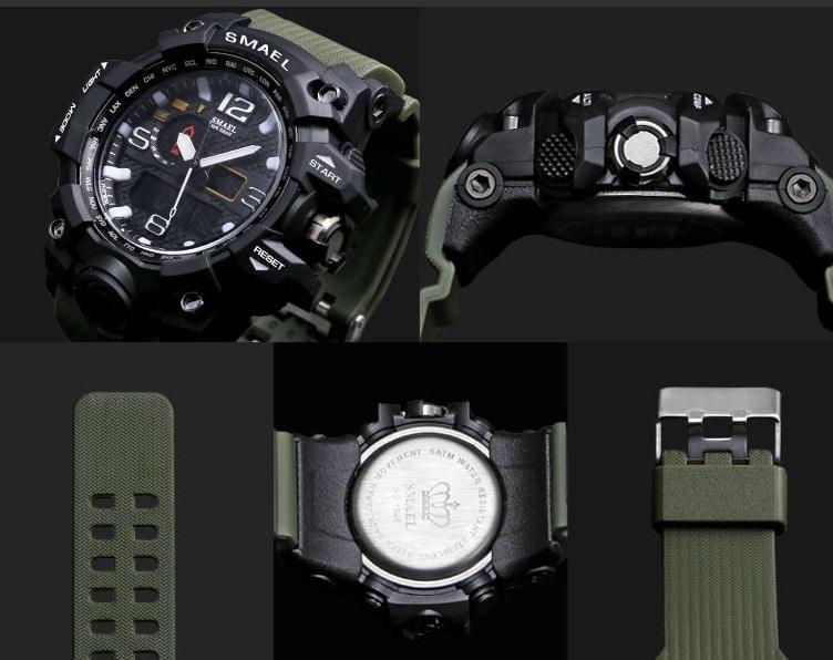 Fashion sports multi-function electronic watch