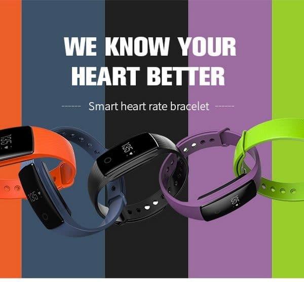 Smartband Pulsmesser Armband Fitness Flex
