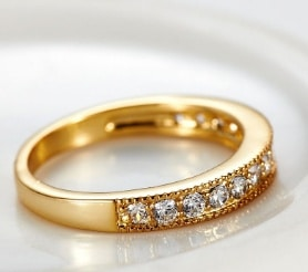 love ring European and American