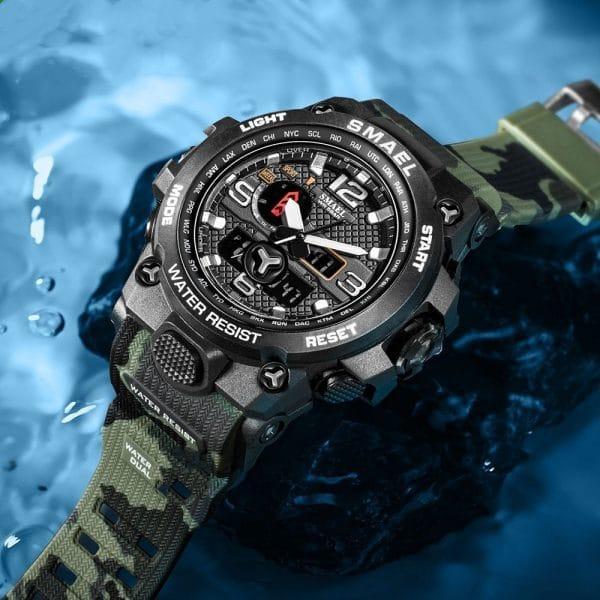Multifunctional electronic watch