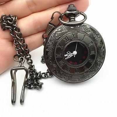 Roman Double Display Pocket Watch