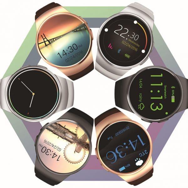 Round screen card bluetooth call watch