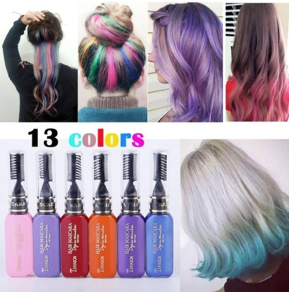 hair dye mascara