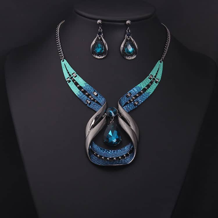 Europe and America luxury jewelry set
