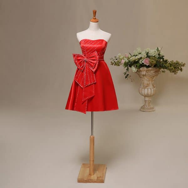 Bra red wedding dress toast clothing