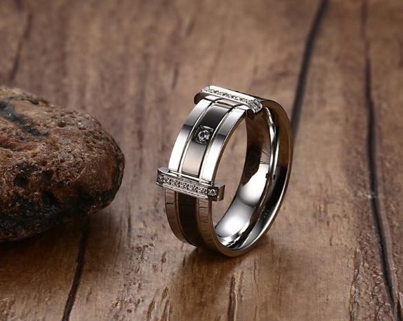 Tungsten carbide diamond ring