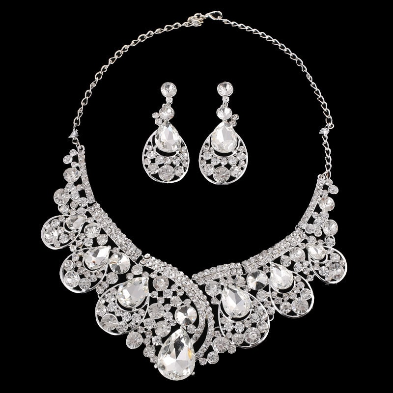 super alloy Rhinestone Wedding Dress jewelry