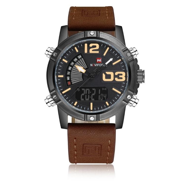 NAVIFORCE Men's Fashion Sport Watches