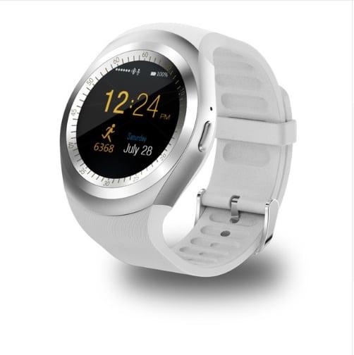 Y1 Smart Watch Round Support Nano SIM