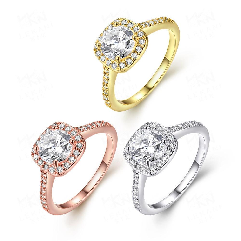 Rose Gold Ring Women