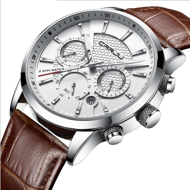 Six hand timing watch