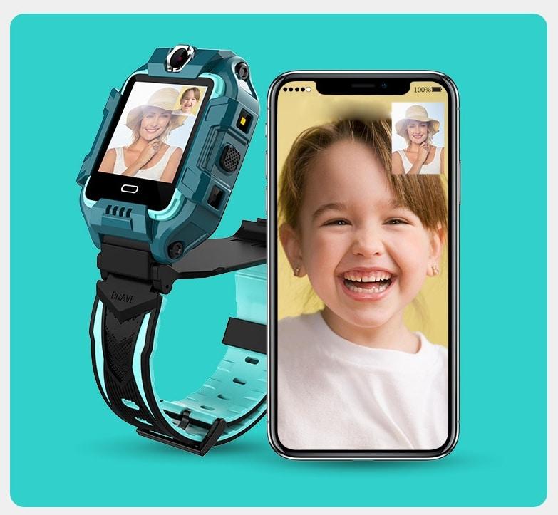 Kids Smart Watch SOS Call Location Finder