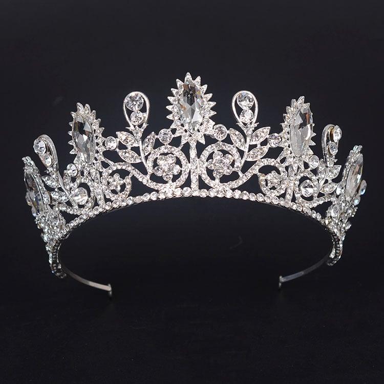 sunflower bride Crystal Crown