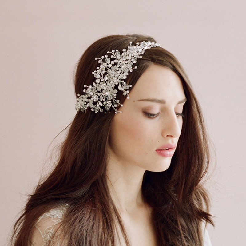 The beautiful bride wedding ornaments