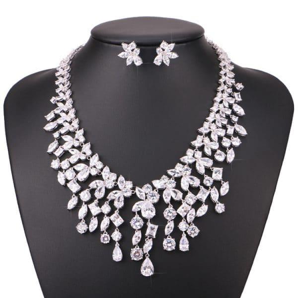 fashion bride light luxury necklace