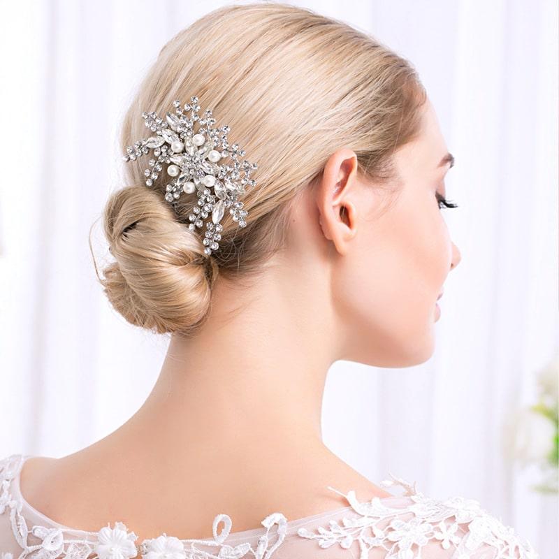 2021 new exquisite fashion bride headdress