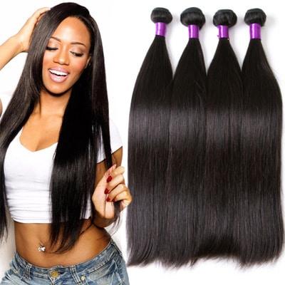 Brazilin human straight hair
