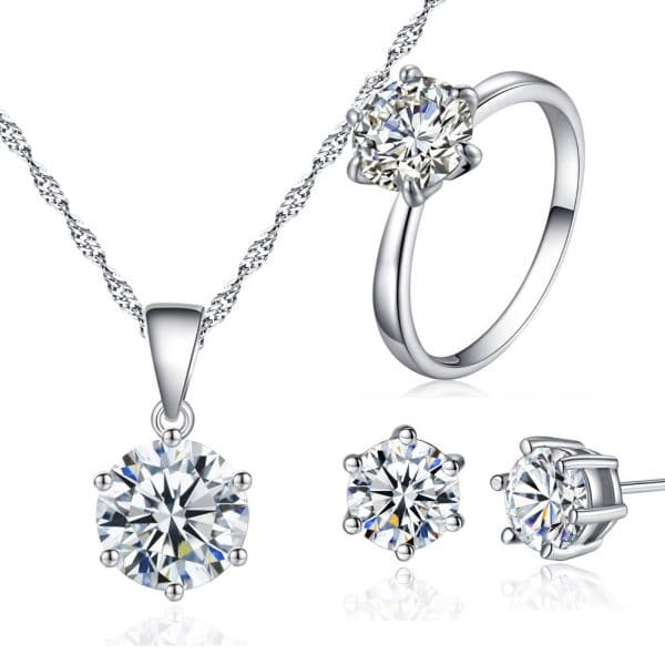 Korean Fashion Bridal Wedding Jewelry