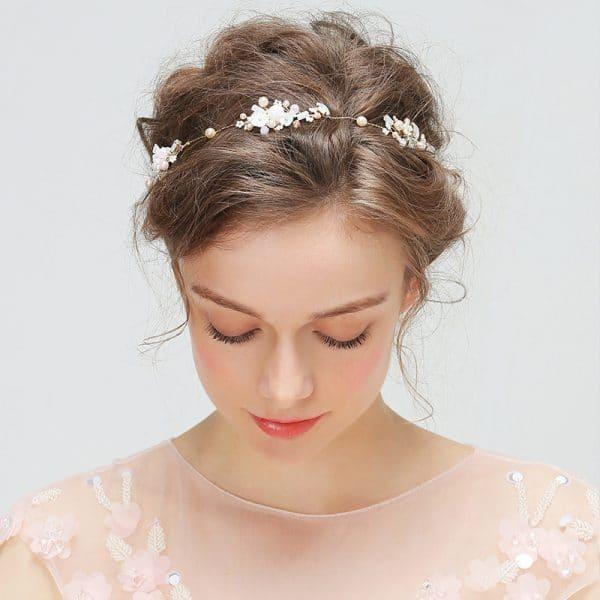 YD213 bride wedding headdress