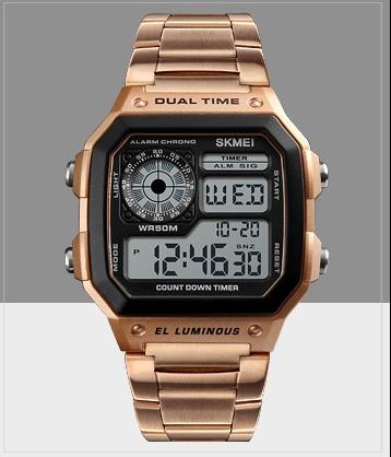 Business steel belt electronic watch