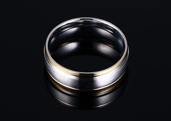 Vnox classic men wedding bands ring
