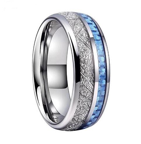 Gold Ring With Black Veneer Plating