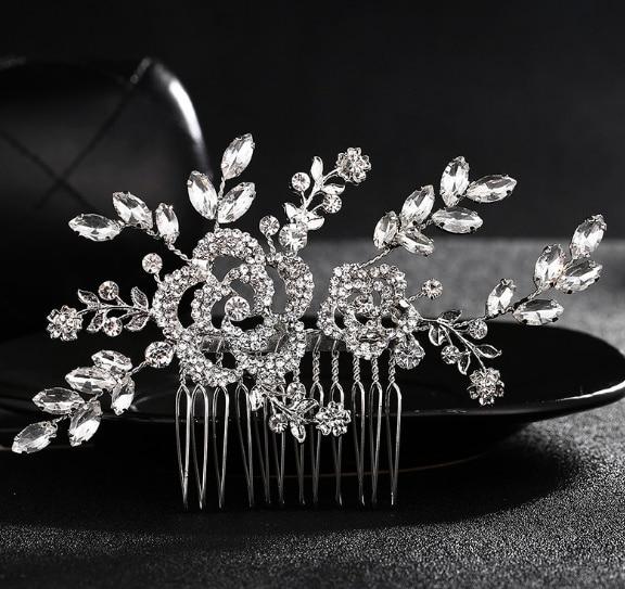 alloy comb hair headdress jewelry