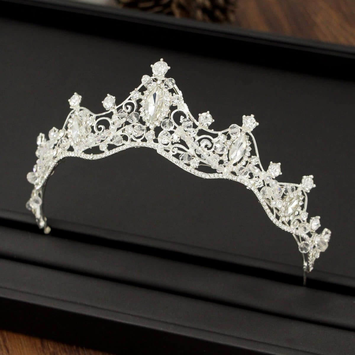 wedding crown hoop bride accessories