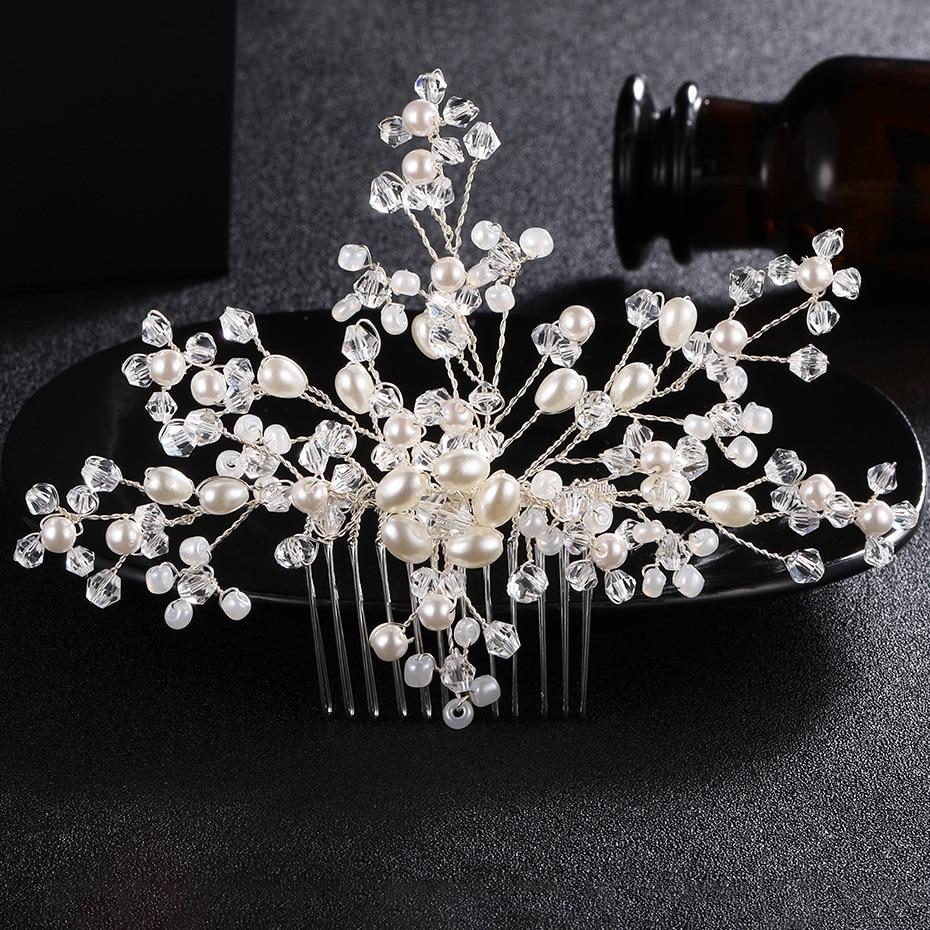 Bride comb fashion handmade