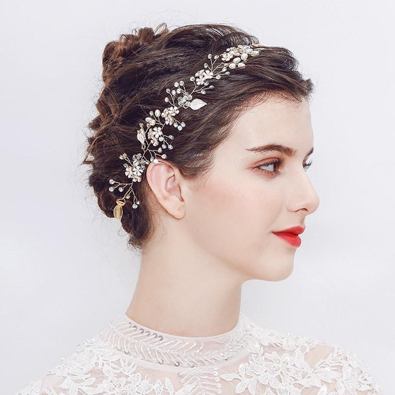 the new Pearl handmade headband