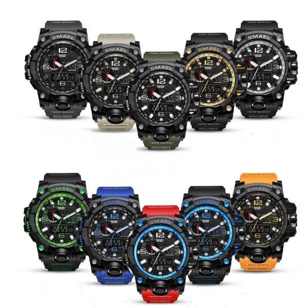 Luminous movement electronic watch