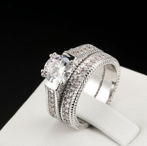 Hot European and American engagement rings