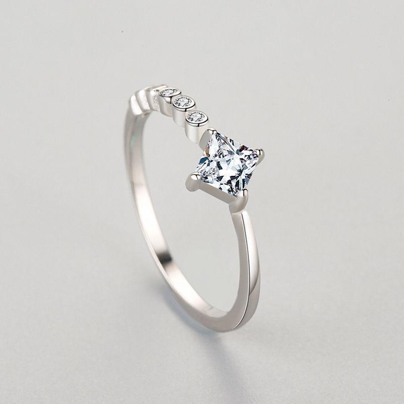 Cross-border sterling silver ring